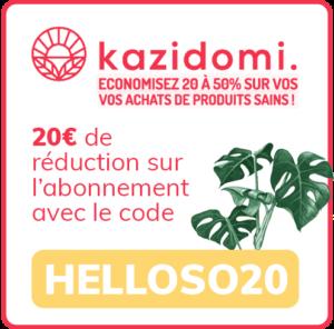 kazidomi code promo bon plan